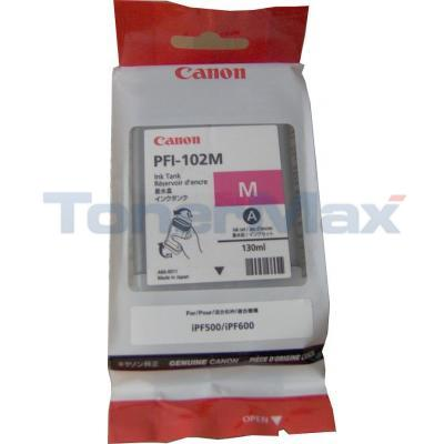 CANON PFI-102M INK TANK MAGENTA 130ML
